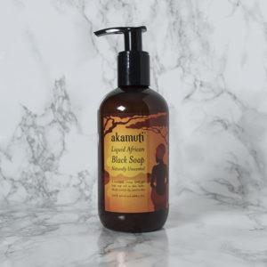 African Black Soap, flytande